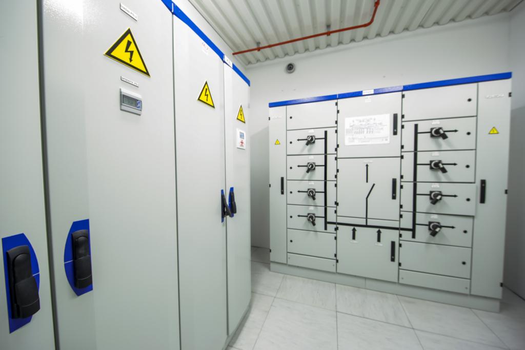 Elektros skydinės duomenų centre
